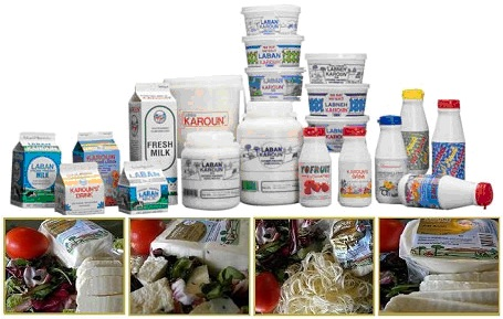 Karoun Dairies Brand Products